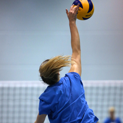Volleybal op Papendal