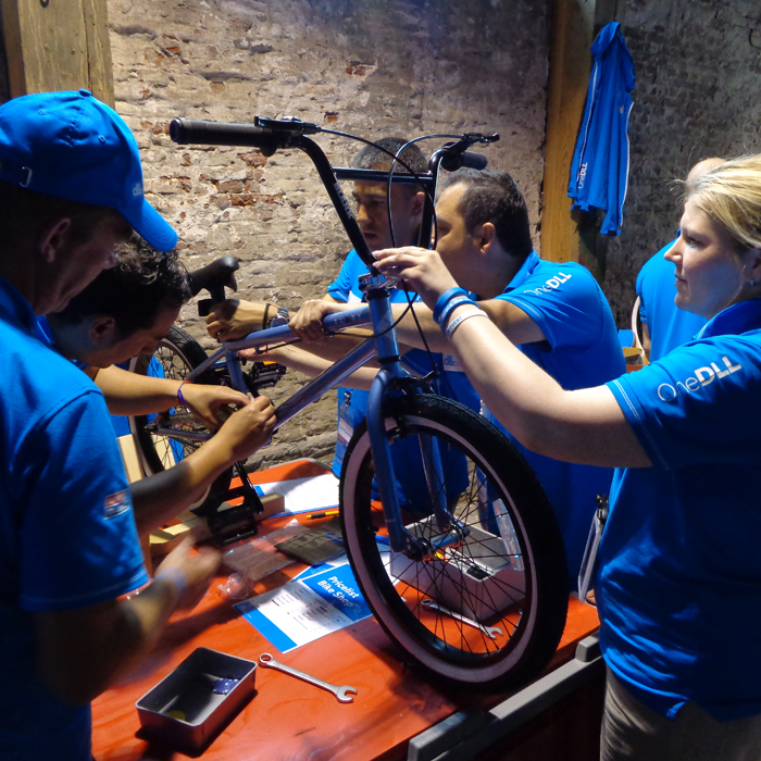 Clinic Build a Bike #OpPapendal