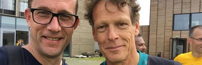 Gerard Nijboer hardlopen op papendal
