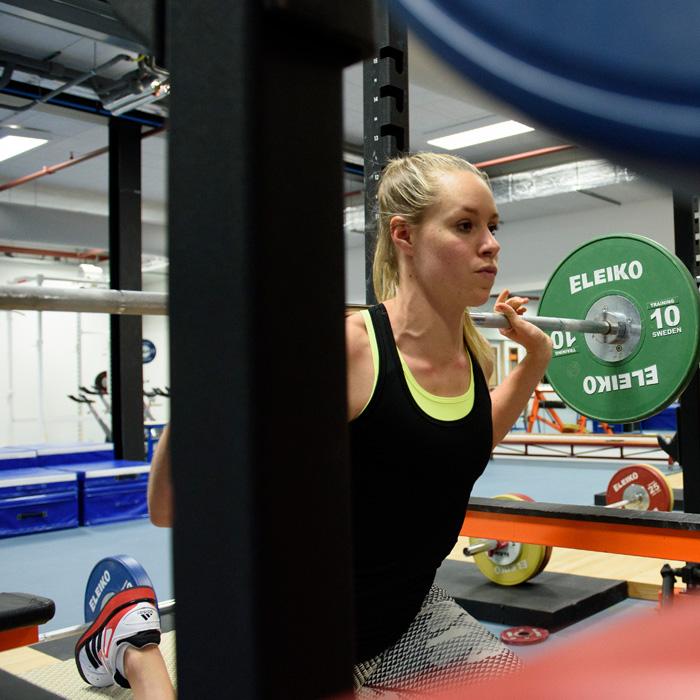Fysieke training op Papendal