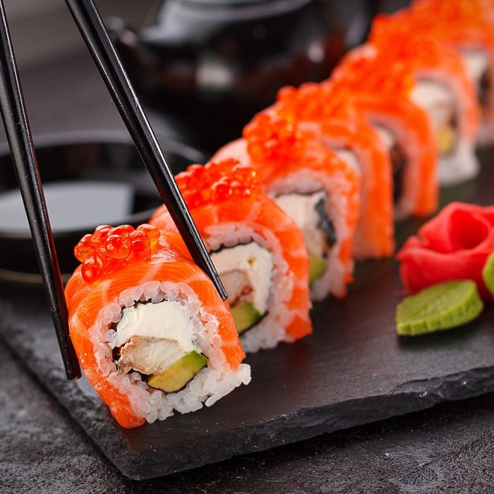 Clinic sushi maken op Papendal