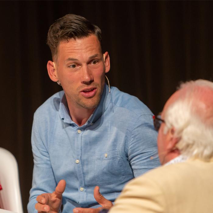 Sportspreker Maarten Tjallingii #OpPapendal